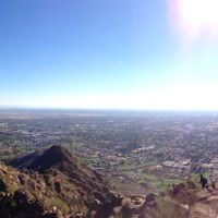 Running Up Camelback Mountain