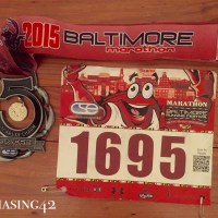 Baltimore Marathon 2015 Race Report
