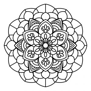 Free Printable Mandala Coloring Sheets | free printable coloring sheets mandalas