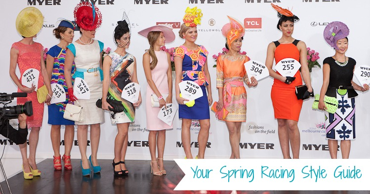 Your Spring Racing Style Guide