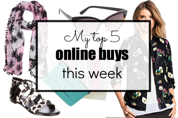 My top 5 online buys this week