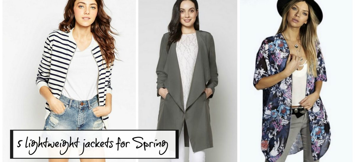 5 perfect jackets for Spring