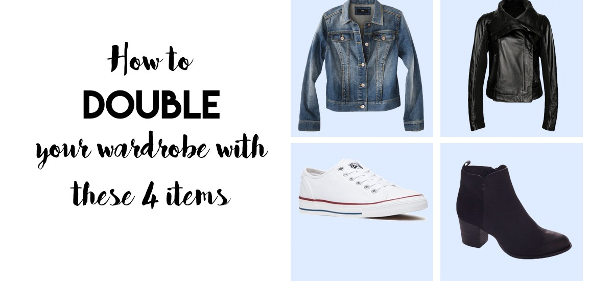 4 items that will DOUBLE your wardrobe