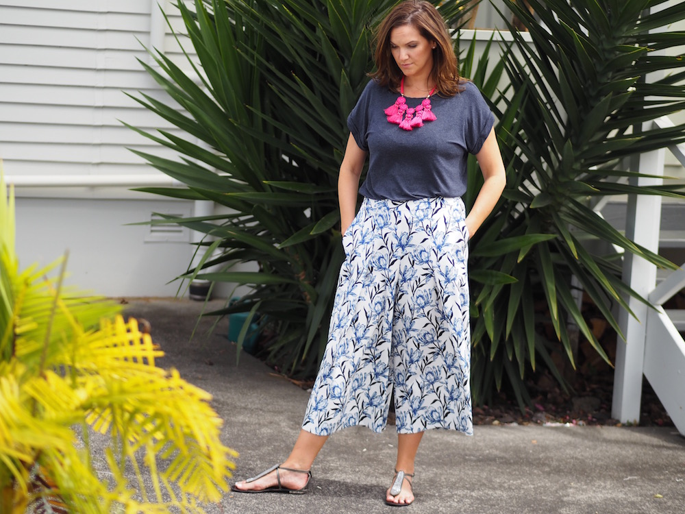 Auckland personal stylist - how to wear culottes