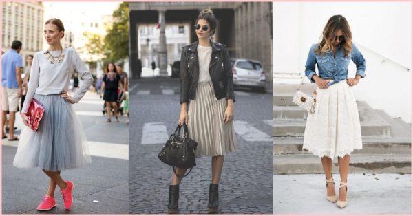 "10 ""Pin-spirational"" Ways to Style A Midi Skirt"