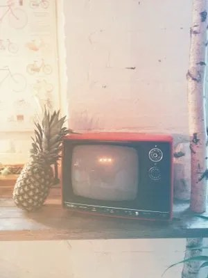 pineapple and TV