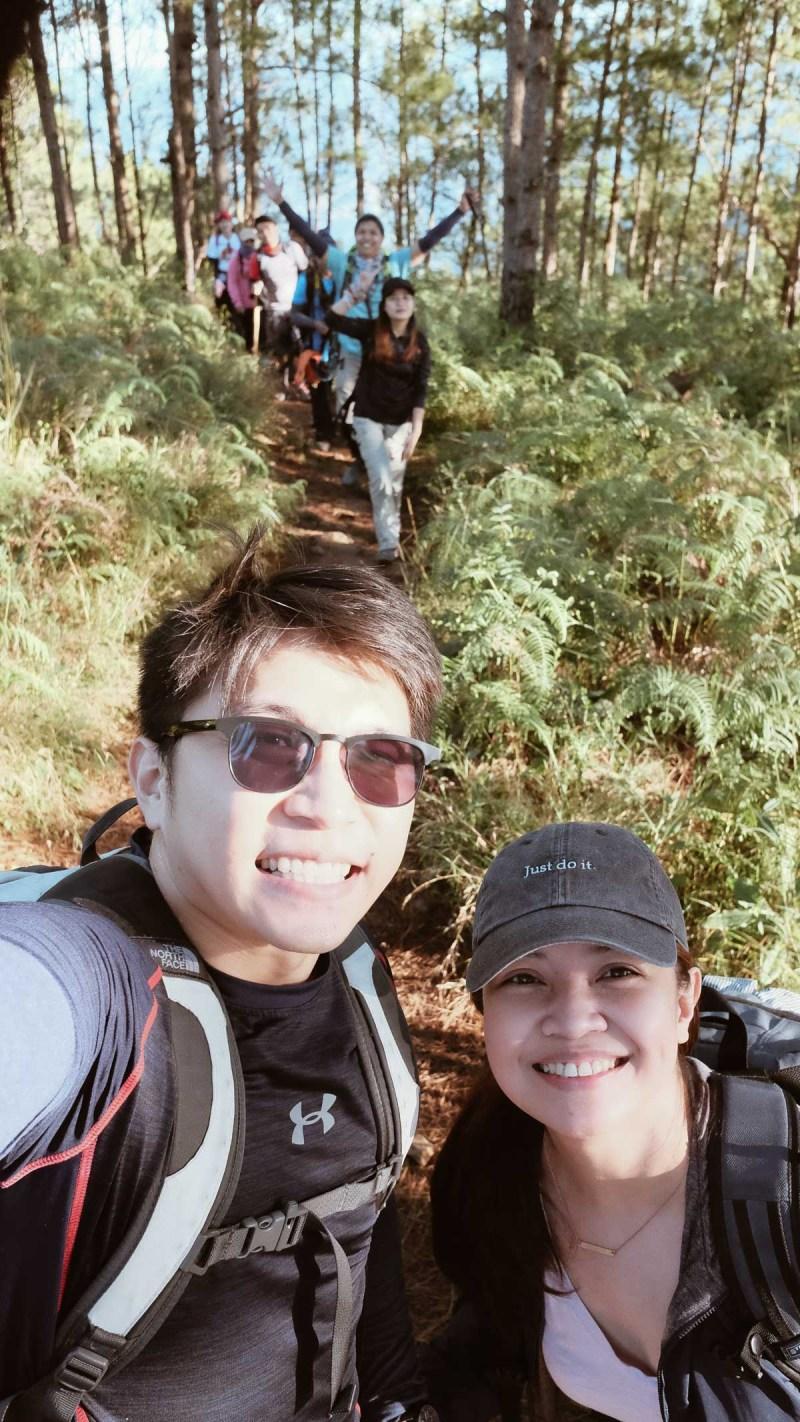 Mt. Ulap trail