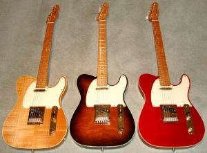 40th Anniversary Custom Shop Telecasters in all finishes