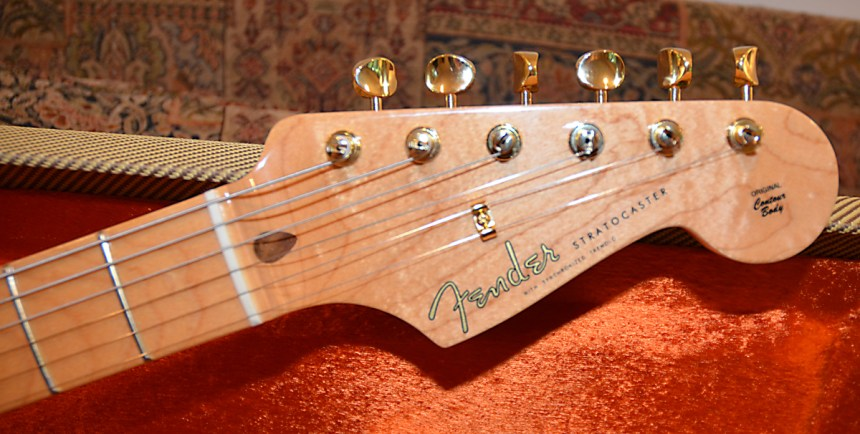 Flamed Fender Neck