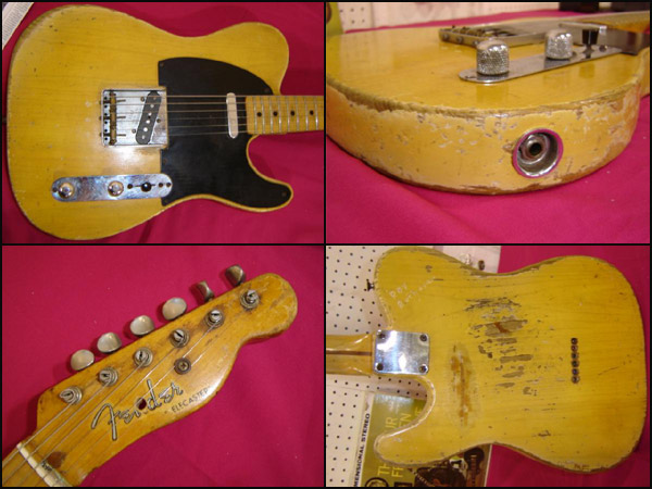 "1953 Fender Blackguard The REAL ""Nancy"" 2324"