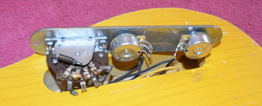 Original 1953 Telecaster 3-way switch will add to the vibe