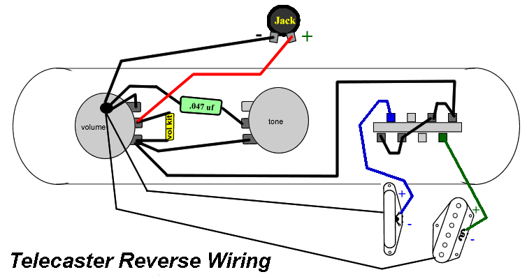 Here is the wiring diagram for Telecaster Reverse Control plate