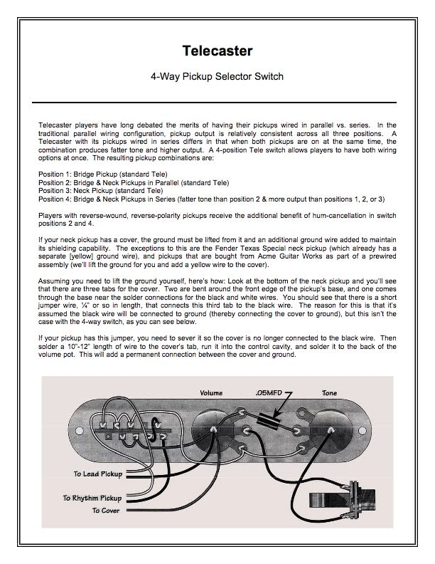 fender custom shop texas special tele pickups wiring diagram rh somurich com fender custom shop texas special strat pickups wiring diagram