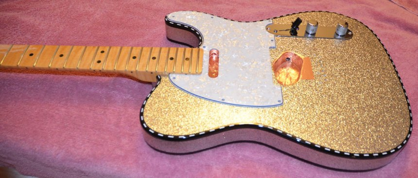 Pearl pickguard like the one on Marty Stuart Signature Telecaster