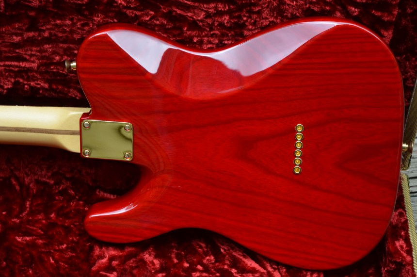 Neck and tummy contours - Swamp Ash body