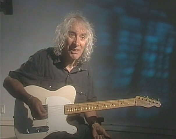 Albert Lee with Fender Esquire