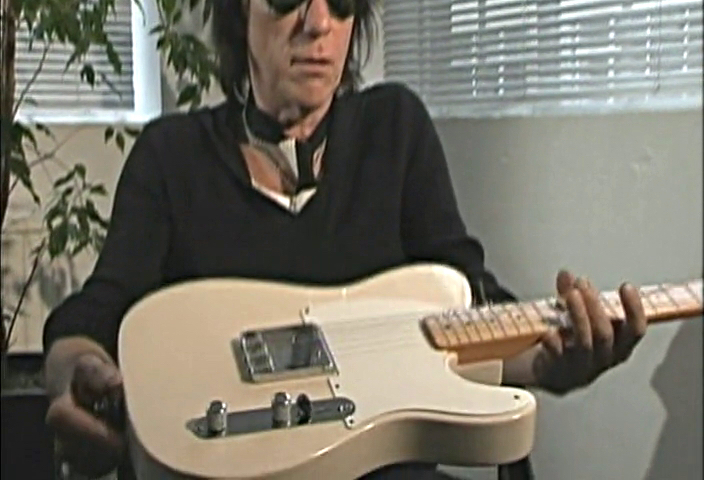 Jeff Beck with Fender Esquire