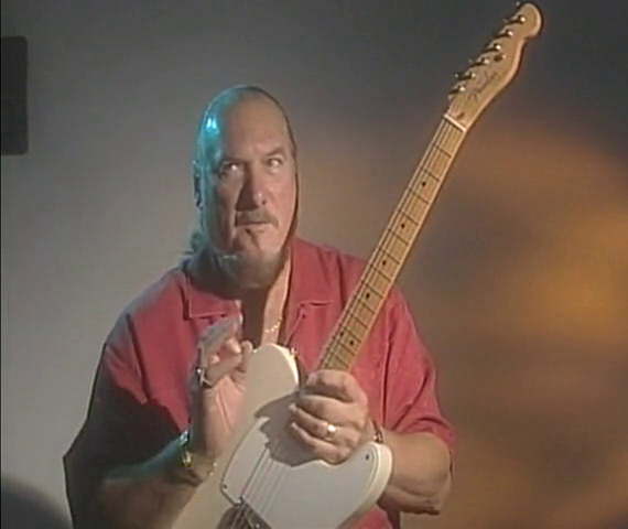 Steve Cropper with Fender Esquire