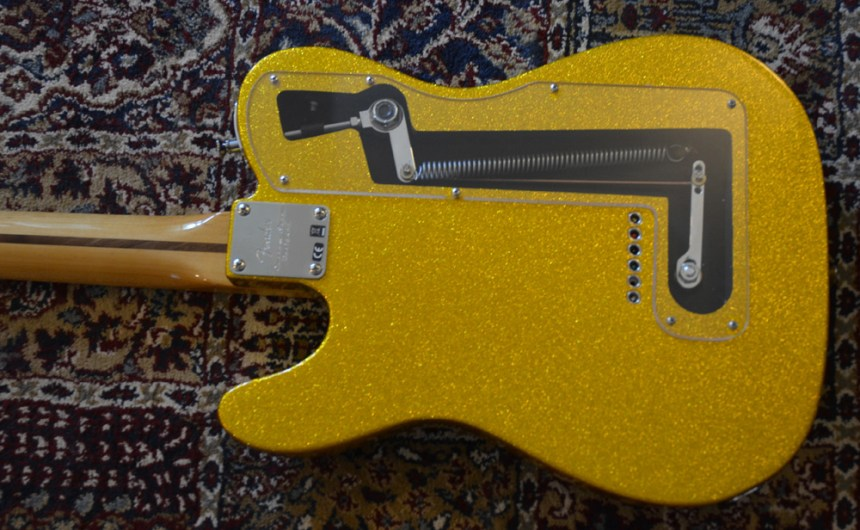 Forrest Lee Jr B Bender installed in a Fender Baja Telecaster