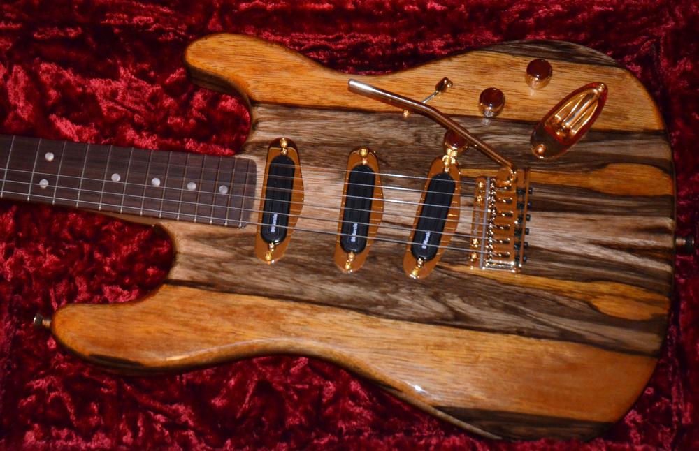 Custom Built Korina Stratocaster Chasingguitars