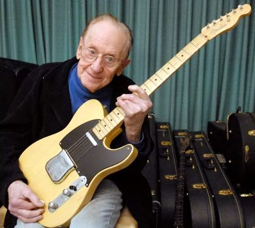 Les Paul another one of my guitar heroes with his Telecaster