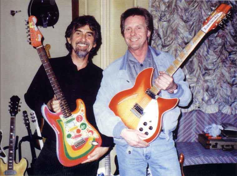 "George Harrison ""Rocky"" Stratocaster Tribute   ChasingGuitars"