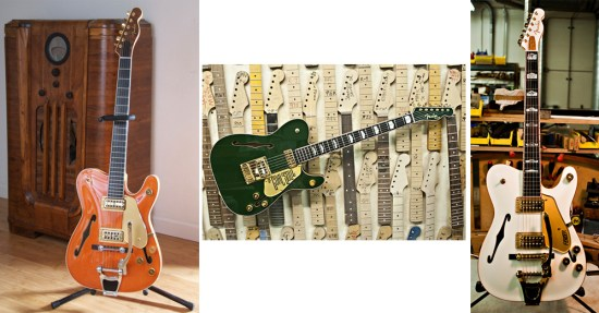 Gretsch Inspired Telecasters from the Custom Shop