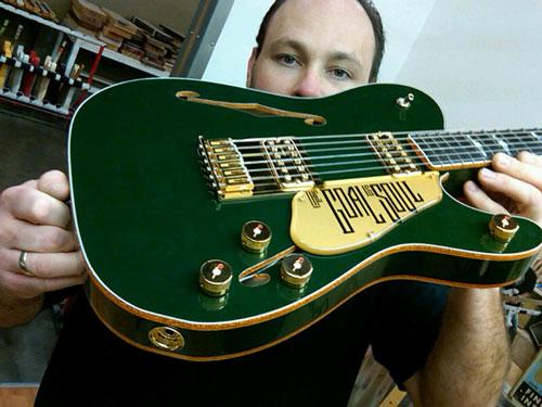 The Irish Falcon Guitar