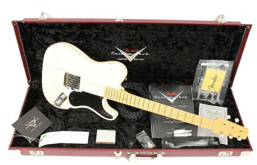 Fender Custom Shop Limited Snakehead Telecaster sells for $6K
