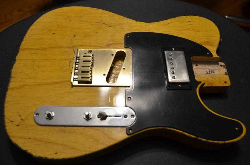Guitar Pickup Upside Down : micawber telecaster inspired project chasingguitars ~ Vivirlamusica.com Haus und Dekorationen
