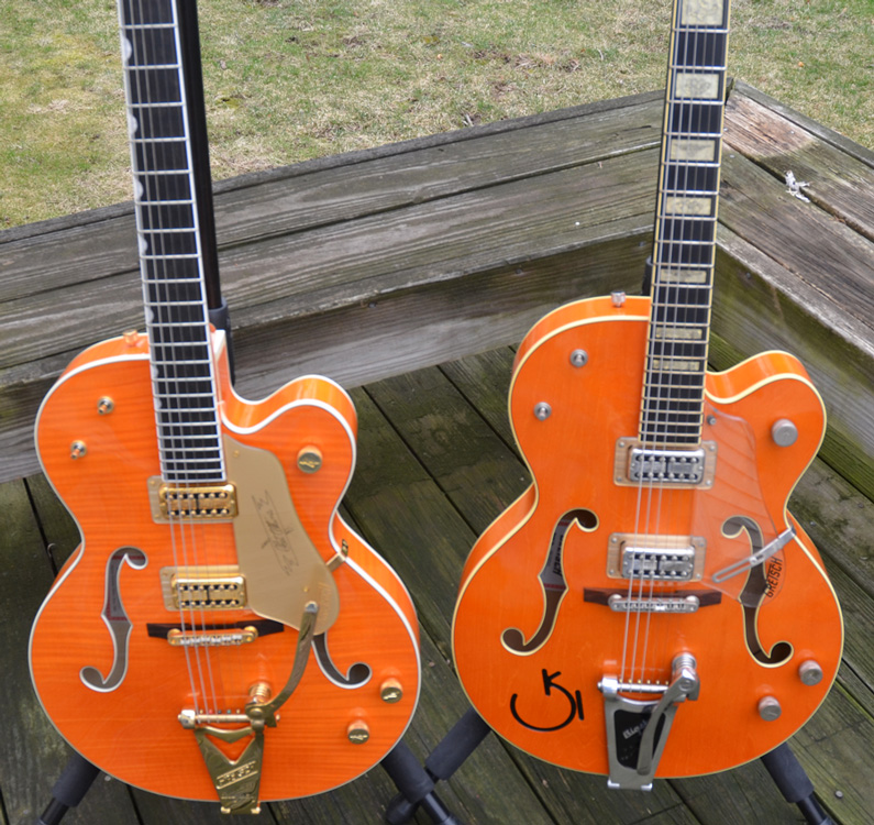 Gretsch G6120 TM Chet Akins and Gretsch G6120 Reverend Horton Heat Models