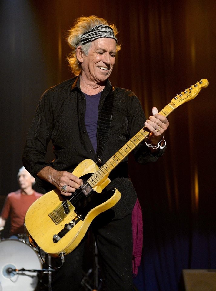 Keith Richards playing Micawber