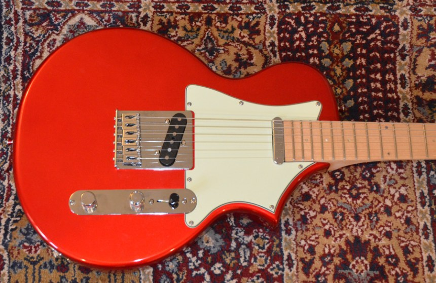 Telair after I modified the guitar
