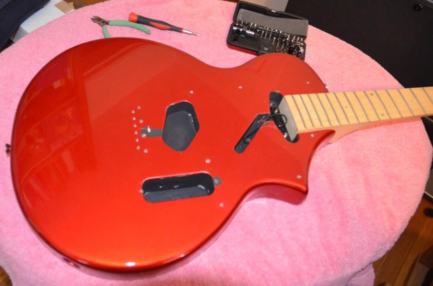 Guitar all apart