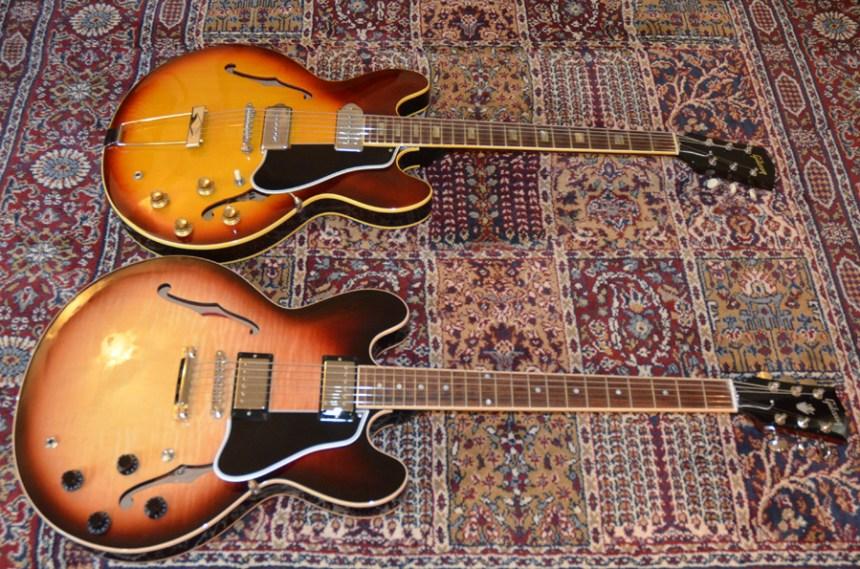 Gibson ES 330 and ES-335
