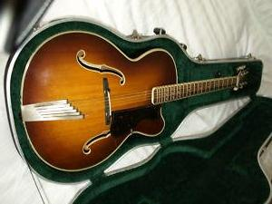George's Hofner President was donated to the Harrison Estate from a guitar collector