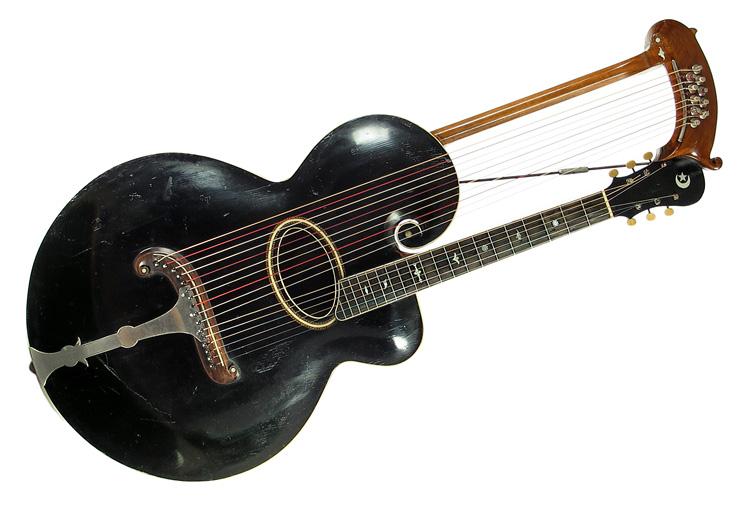 1907 Gibson Harp Guitar