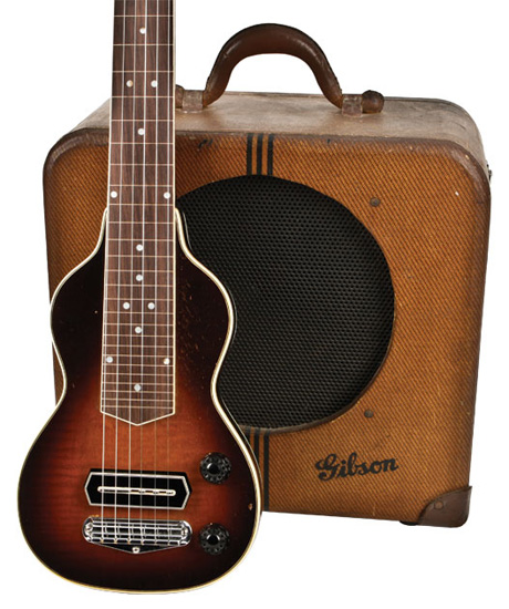 1937 Gibson EH150 with the matching amp