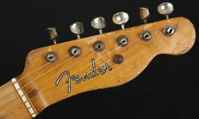"Fender ""no caster"" headstock"