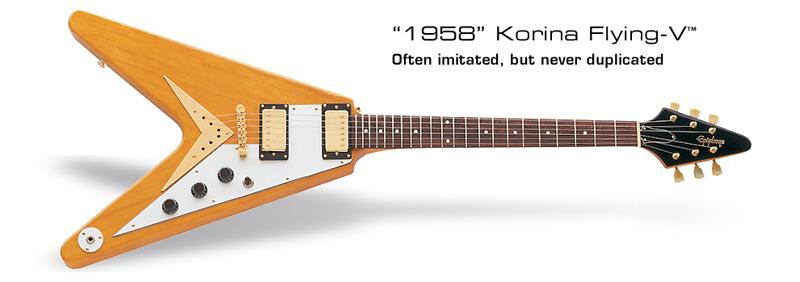 1958 Gibson Flying V Korina