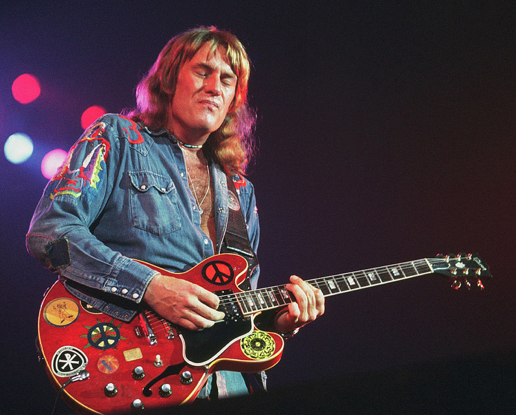 Alvin Lee in the Ten Years After days