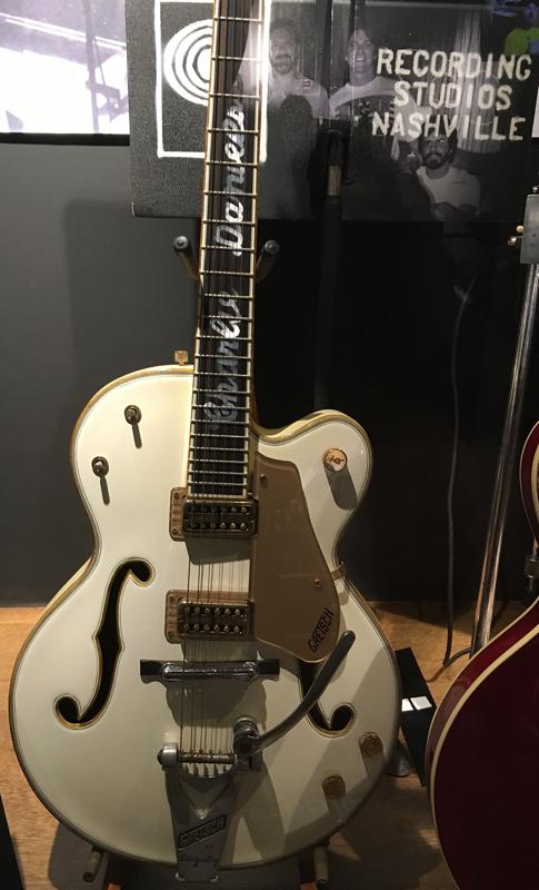 Charlie Daniel's Gretsch guitar