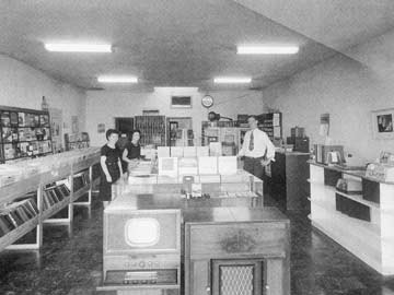 Inside the Fender Radio Shop, circa 1949