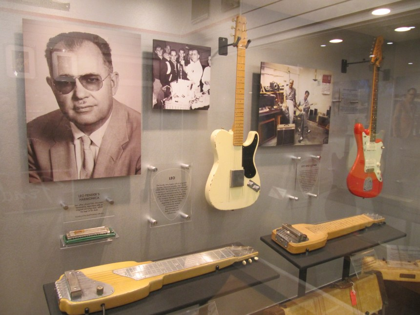 Fender Museum with some original instruments