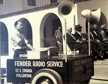 Fender Public Address Service