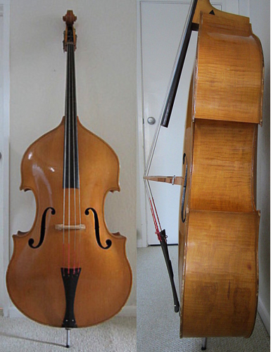 Pre-WWII Gibson Upright acoustic bass