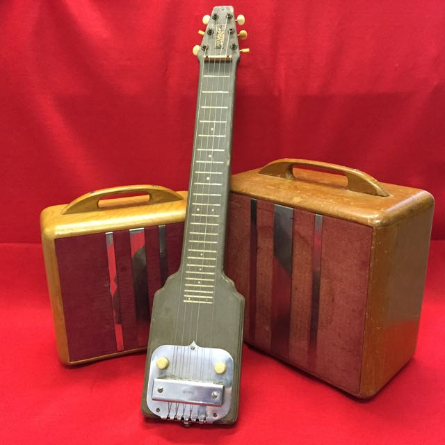 "K&F Lap Steel and ""woody"" amps"