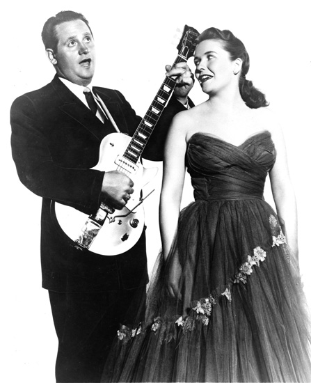 Les Paul and Mary Ford in 1954