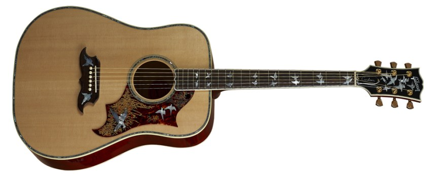 Gibson Dove was introduced in 1962