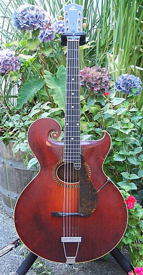 """The Gibson"" 1923 Style 0 guitar"